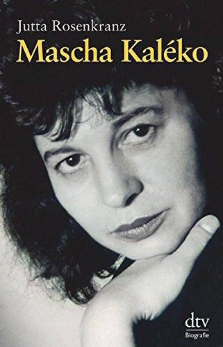 Buchseite und Rezensionen zu 'Mascha Kaléko: Biografie' von Jutta Rosenkranz