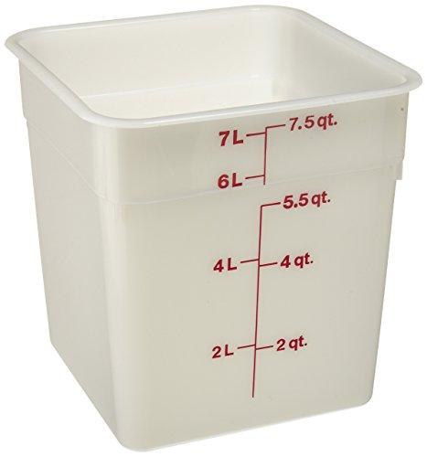 CAMBRO 8sfsp-148Poly camsquare 8Quart Lebensmittel Container -