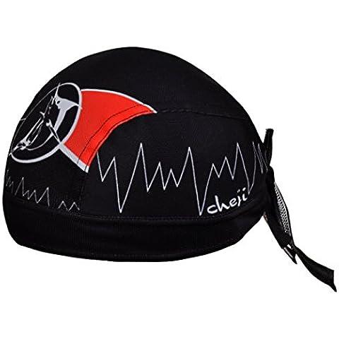 iMaySon Moda Exterior pirata Bandana Sombrero UV Sol Estilo Polar Senderismo Ciclismo pañuelo en la cabeza, hombre unisex Mujer,