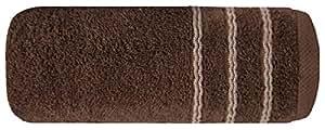 50x90 braun dunkelbraun schoko chocolate Handtuch Frottee Qualität 500g/m² saugfähig 100% Baumwolle Belot