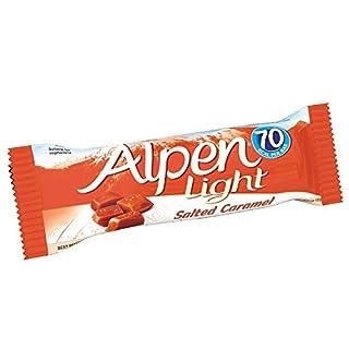 Alpen Light Salted Caramel Bar - Pack Size = 24x19g