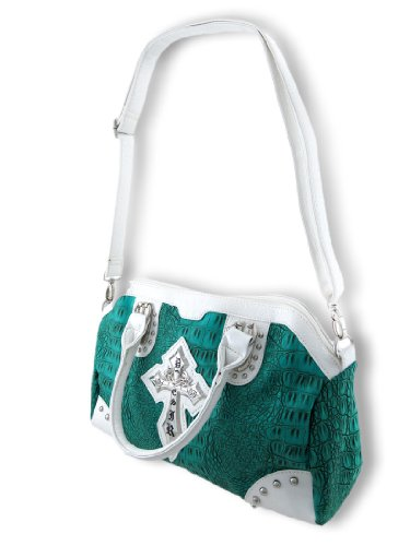 Things2Die4, Borsa a spalla donna Turquoise