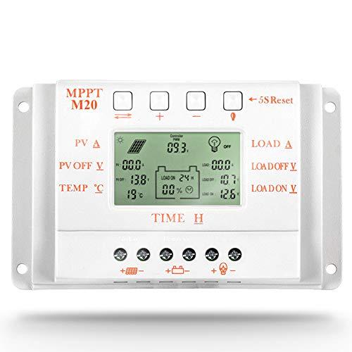 aviso: No es verdadero MPPT, no hay una bobina transformadora grande en el interior.   Este es un controlador de carga MPPT compatible PWM inteligente / eficiente / ahorro de energía, él no solo tiene la función de carga del controlador MPPT efici...