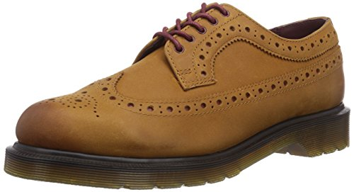 Dr. Dr. Martens 3990 Miraggio Burnished Shale Herren Brogue Schnürhalbschuhe Beige (burnished Shale) Martens 3990 Miraggio Polido Homens Xisto Sotaque Lace Up Brogues Bege (xisto Polido)