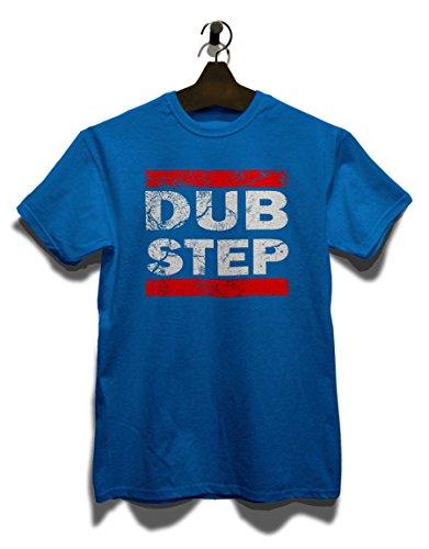Dub Step Vintage T-Shirt Royal Blau