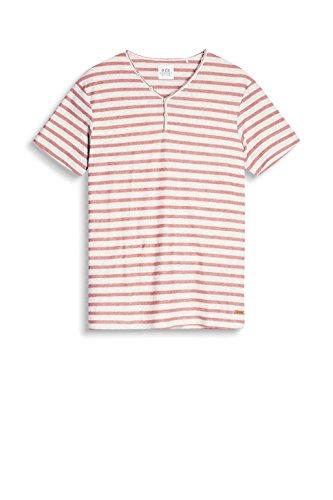 edc by ESPRIT Herren T-Shirt 067cc2k009 Weiß (Off White 110)