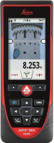Leica Disto S910299,9m misuratore di distanza laser, punto a punto di misurazione, rosso/nero, 799097, 5 voltsV