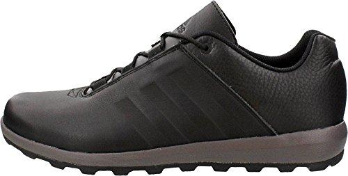 Adidas Outdoor Zappan II Black / granito / nero della scarpa da tennis 7 D (m) Black/Granite/Black