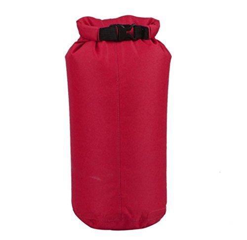 ewfsef 8L Sacca Impermeabile Leggera Compressione Borsa, Purple, 8 l Red