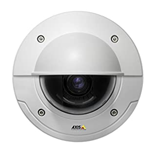 AXIS 0587-001 PTZ-Überwachungskamera, für Außenbereich, 48 V, Weiß