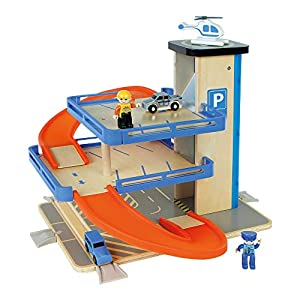 WOOMAX - Parking 4 pisos con coches (ColorBaby 46258)
