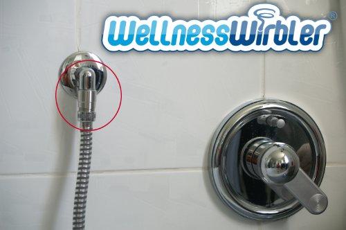 Preisvergleich Produktbild Wellnesswirbler ® für die Dusche - Wasserwirbler / Wirbler