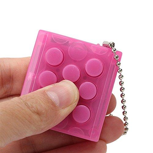 KingNew - Llavero de burbujas antiestrés, juguete divertido para aliviar...