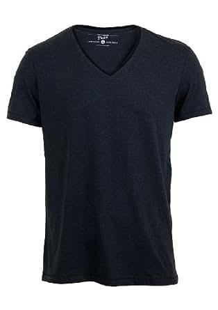 Tom Tailor Herren V - Neck T-Shirt 1023389.09.12 Regular Fit