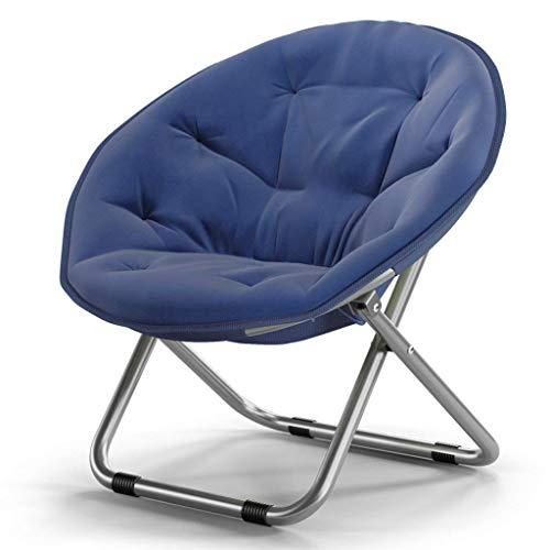 Eeayyygch Erwachsener Moon Chair Sonnenliege Radar Chair Lounge Chair Klappstuhl Runder Stuhl Sessel...
