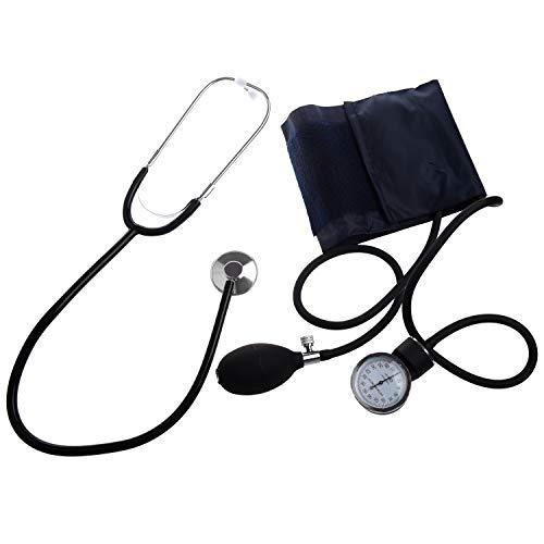 Standard-aneroid (REFURBISHHOUSE Aneroid-Blutdruckmessgeraet Manschette Blutdruck-Monitor Stethoskop Nylon Stulpe)