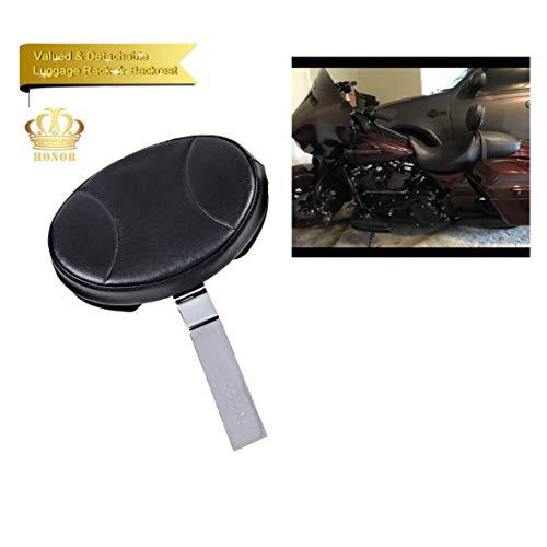 Preisvergleich Produktbild Honor Driver Custom Made Rider Rückenlehne,  Rider Sissy Bar für Indian Chief Chieftain Roadmaster Springfield 2014–2018