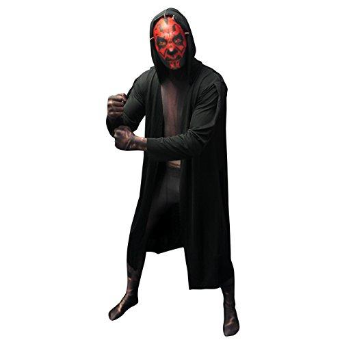 """Morphsuits Offizielles Star Wars Darth Maul Digitales Kostüm - Größe Klein 4'6"""" - 5"""