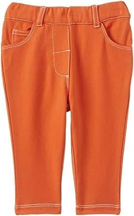 Nauti Nati Baby Girl's Trouser (NAW14-661_Orange_0-6m)