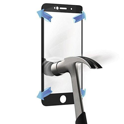Hama 00173834Galaxy S6Edge Transparent 1pieza (S) -Protection Displayschutzfolie Transparent (Galaxy S6Edge Mobiltelefon/Smartphone Samsung/Hartglas Schwarz Transparent)