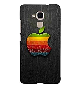 For Huawei Honor 5c :: Huawei Honor 7 Lite :: Huawei Honor 5c GT3 Pattern, Black, Lovely Pattern, Amazing Pattern, Printed Designer Back Case Cover By CHAPLOOS