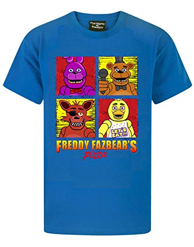 Five Nights At Freddy's Panels Boy's T-Shirt (13-14 Years)
