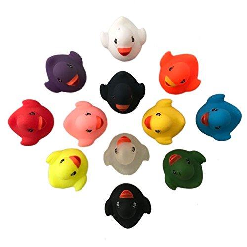 Gummiente Schwimmente Enten Ducks Badezimmer Spielzeug Set (Billig Tee-sets)