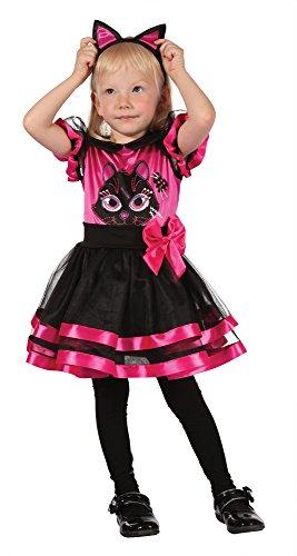 8Kitty Kleinkinder Kleid, pink, Größe XS ()
