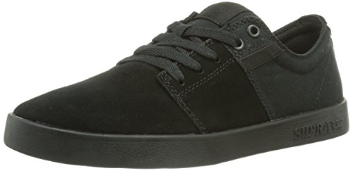 Supra Skytop - Zapatillas unisex, color Schwarz (BLACK/YELLOW - WHITE BLY), talla 43