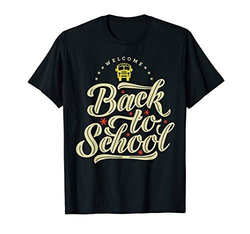 Willkommen zurück in der Schule, Schulbusfahrer T-Shirt