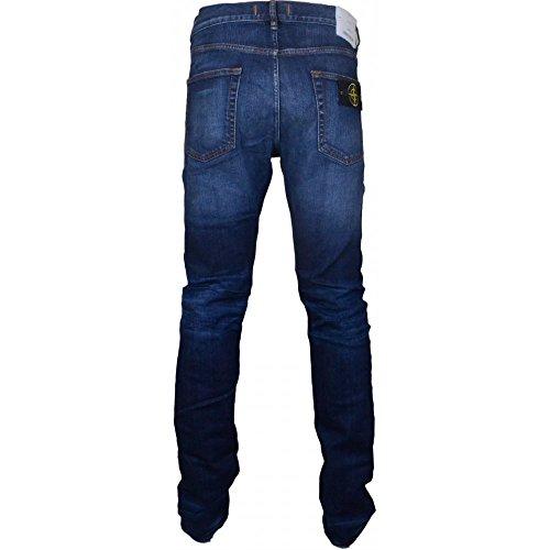 Stone Island - Jeans - Homme bleu Noir délavé Noir délavé