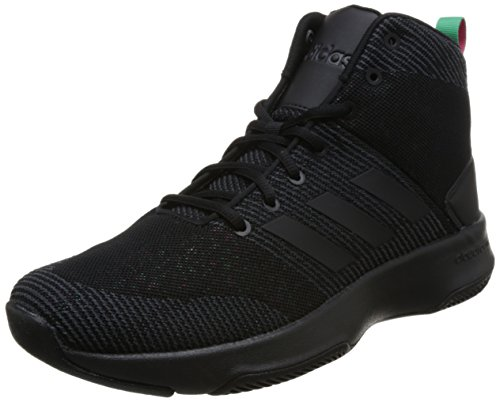 adidas Herren Cloudfoam executor Mid Basketballschuhe, Schwarz (Core Black/Core Black/Carbon S18 Core Black/Core Black/Carbon S18), 44 EU (Schuhe, Männer Basketball Sneaker)