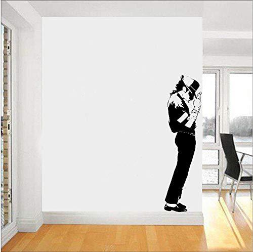 kson Wandtattoo Vinyl Aufkleber Tänzer King Of Pop Wandkunst Dekor Musik Home Interior Raumgestaltung ()