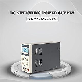 KKmoon DC Schaltnetzteil 【0-60V / 0-5A / 3 Digits Variable Digital Geregelte/Einstellbare Ausgangsspannung Strom/LCD Display】