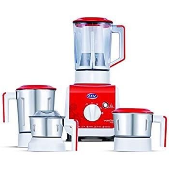 Buy Elgi Ultra Vario 750 Watt Mixer Grinder Bright Red