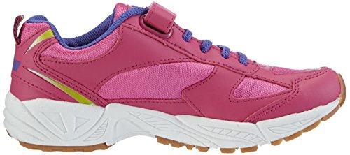 Lico BOB VS, Chaussures indoor fille Rose - Pink (pink/lila/lemon)