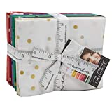 V & Co. Konfetti, Metallic, 17 Fat Quarter Bundle von V &