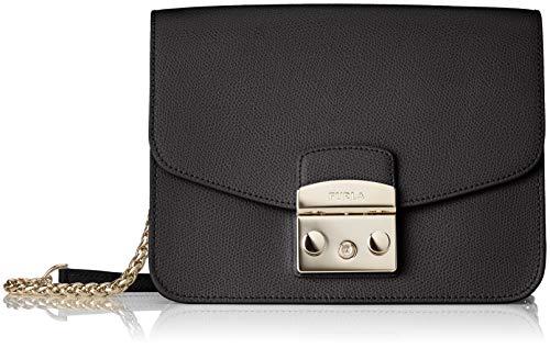 FURLA 941911 - Borse a tracolla Donna, Nero (Onyx), 9x15x21 cm (B x H T)