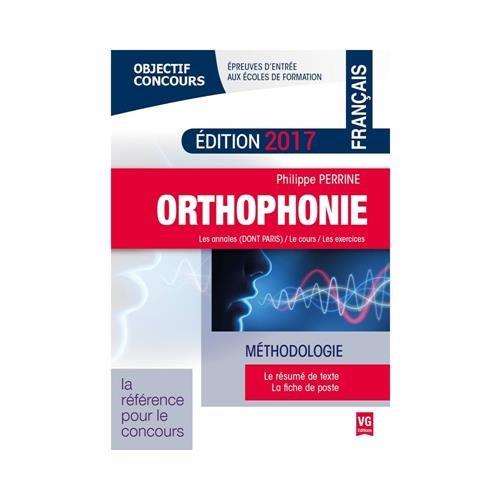 Orthophonie : Méthodologie français