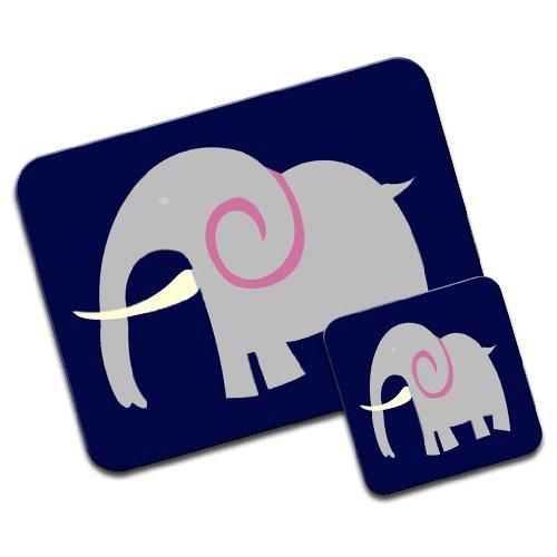 african-indian-grey-elephant-with-huge-tusk-premium-mousematt-coaster-set