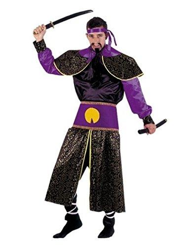 Imagen de disfraz de samurai adulto