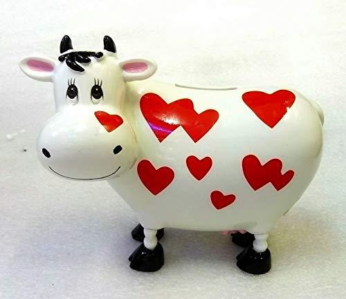 IDELLIA Hucha Vaca de cerámica