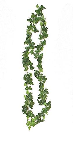 1x Weinlaubgirlande Grün 165cm 147 Blatt Weinranke