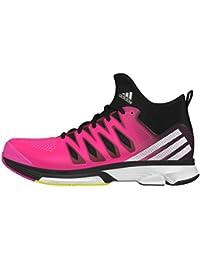 adidas Volley Response Boost 2 Mid W, Zapatillas de Voleibol para Mujer