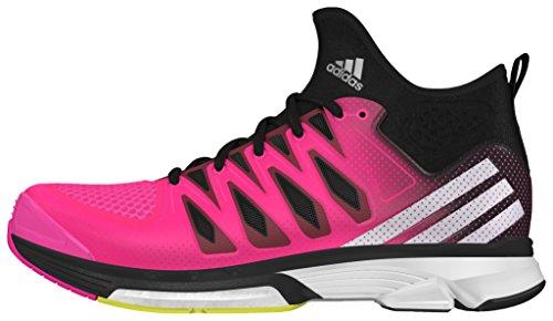 adidas Volley Response Boost 2 Mid W - Scarpe da voleibol da Donna, taglia 38,2/3, colore Rosa