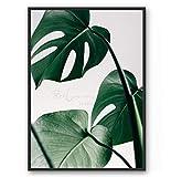 Kunstdruck/Poster MONSTERA -ungerahmt- Blatt, tropisch, Pflanze