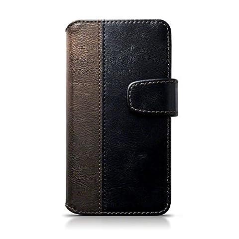 Etui Cuir Lumia 550 - Coque Cuir Lumia 550, Terrapin Étui Housse