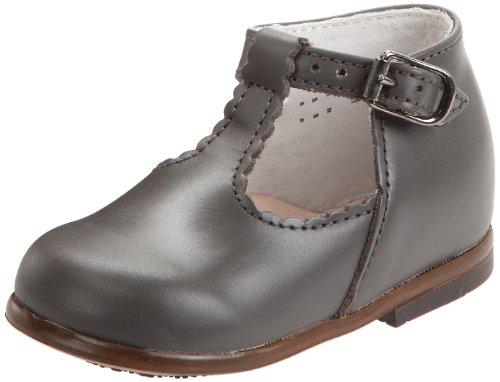Little Mary Bastille, Chaussures premiers pas bébé fille Gris (Vachette Etain)