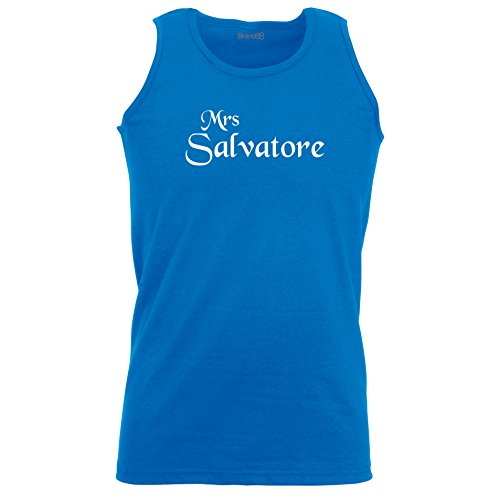 Brand88 - Mrs Salvatore, Unisex Athletic Weste Koenigsblau