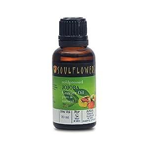 Soulflower Coldpressed Jojoba Carrier Oil (30 ml)